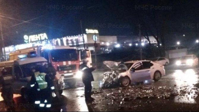 26-летний пассажир иномарки погиб в ДТП в Брянске