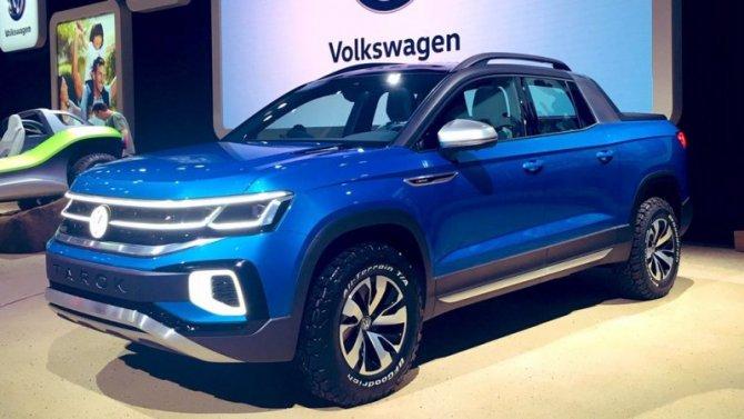 Создан пикап набазе Volkswagen Tiguan