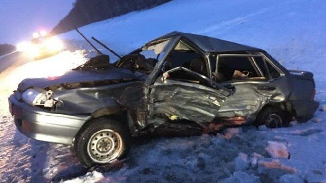 Женщина-водитель погибла в ДТП в Башкирии