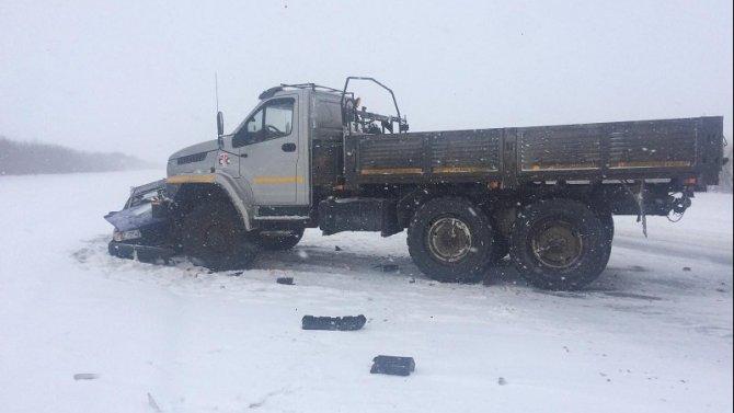Водитель легковушки погиб в ДТП в Переволоцком районе