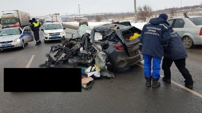 Молодой человек погиб в ДТП в Сызранском районе