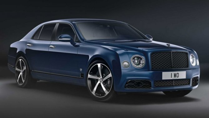 Bentley завершает выпуск седана Mulsanne
