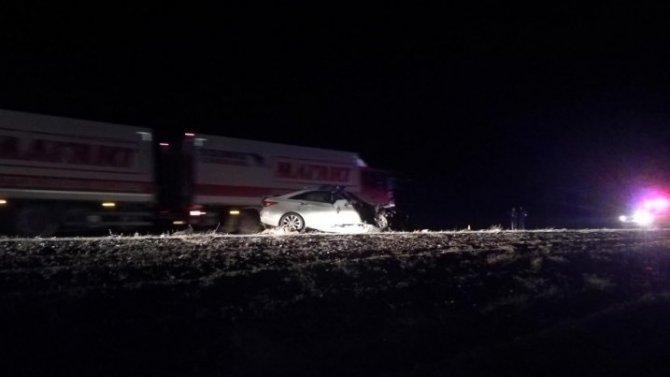 Молодой водитель погиб в ДТП из-за свиньи