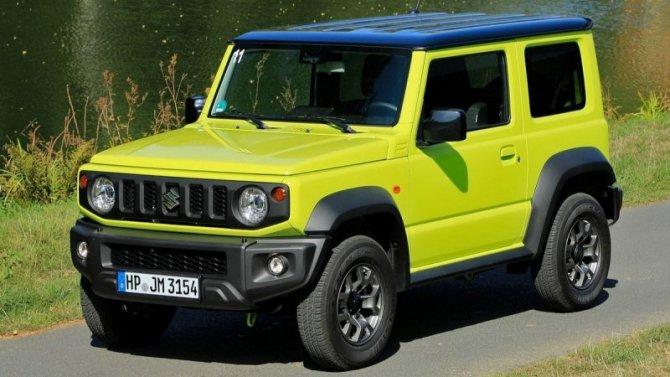 Автомобили Suzuki прибавили вцене
