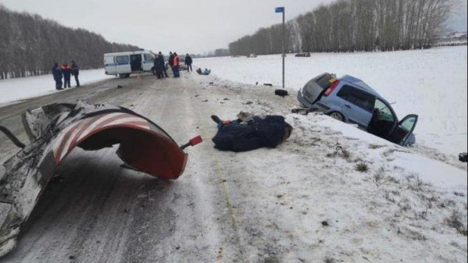 Два человека погибли в ДТП в Бакалинском районе Башкирии