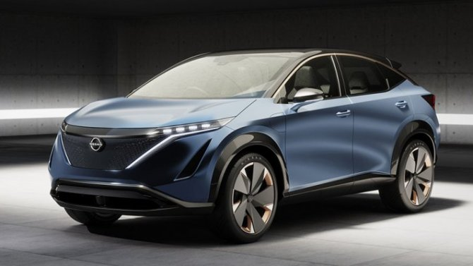 ВРоссии может появиться новый электромобиль отNissan