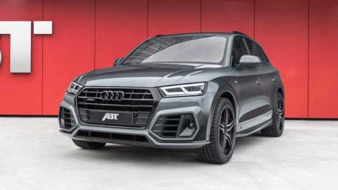ВРоссии будут продавать «заряженный» Audi Q5 ABT Edition