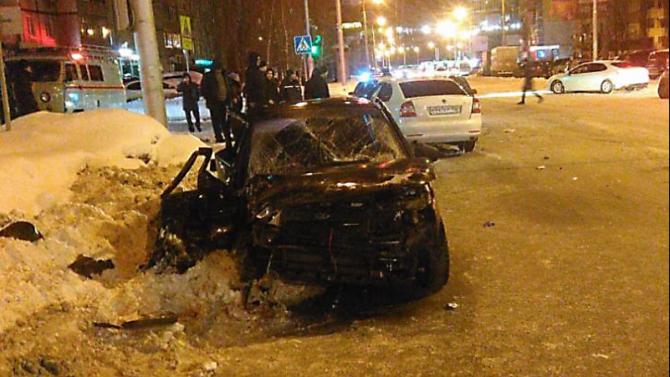 В тройном ДТП в Уфе погиб человек