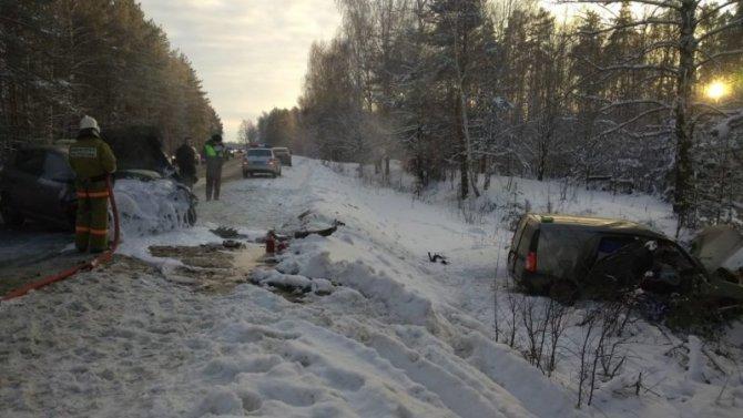 Двое детей пострадали в ДТП в Кстовском районе