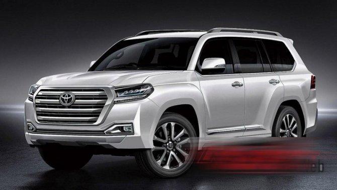 Стал известен срок премьеры Toyota Land Cruiser 300