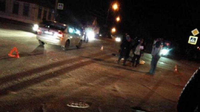 В Клинцах автомобиль насмерть сбил человека
