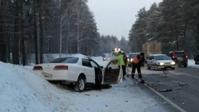 Водитель «Лады» погиб в ДТП на трассе Барнаул – Бийск