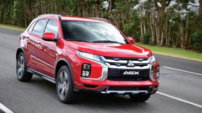 ВРоссии сертифицирован обновлённый Mitsubishi ASX