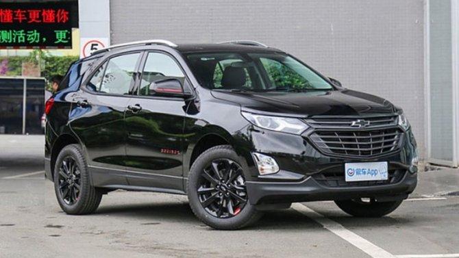 Обновлён кроссовер Chevrolet Equinox