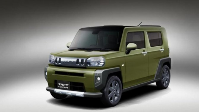 Daihatsu покажет в Токио необычную новинку