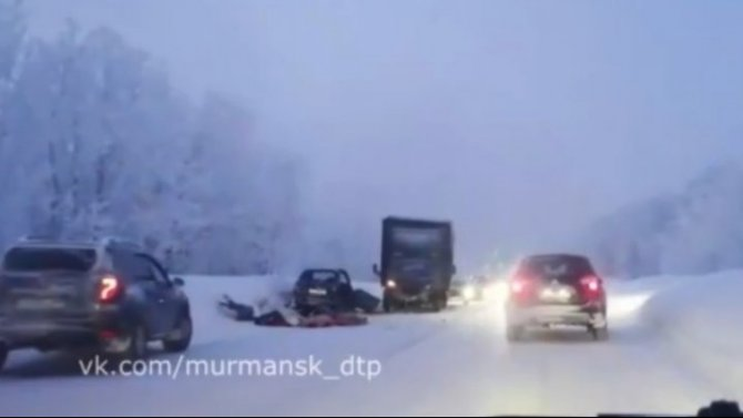 Четыре человека погибли в ДТП на дороге Мишуково – Снежногорск