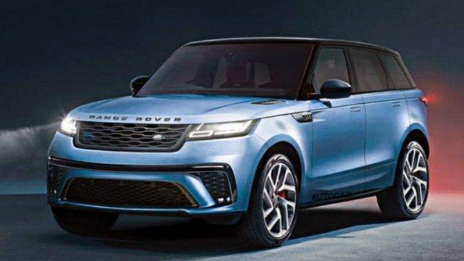 Новый Range Rover Sport появится в2022 году