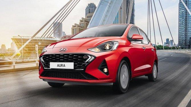 Седан Hyundai Aura поступил впродажу