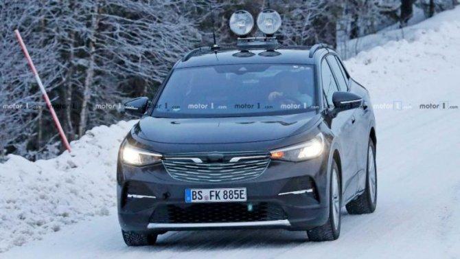 Кроссовер VolkswagenID.4 будет представлен весной