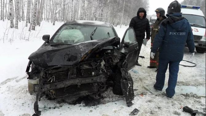 Два человека погибли в ДТП в Новокузнецком районе