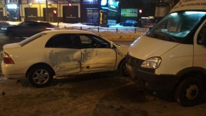 5-летний мальчик пострадал в ДТП в Заельцовском районе Новосибирска