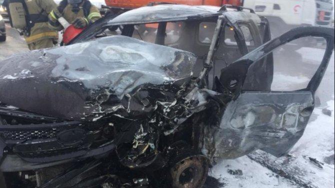 Два человека пострадали в ДТП в Татарстане
