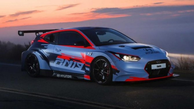 Появились подробности осреднемоторном спорткаре Hyundai