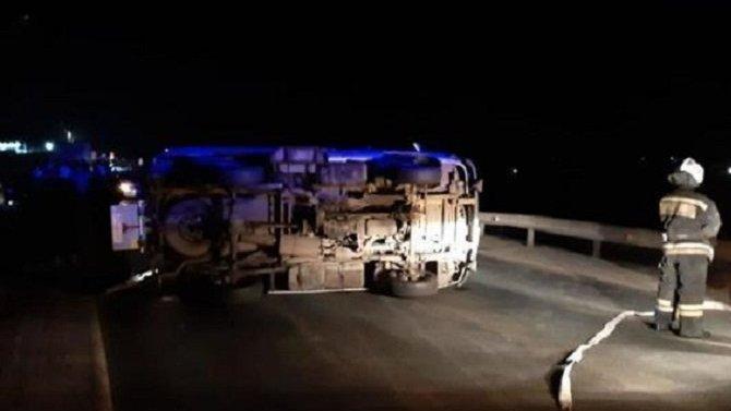 Водитель «скорой» погиб в ДТП в Саратовской области