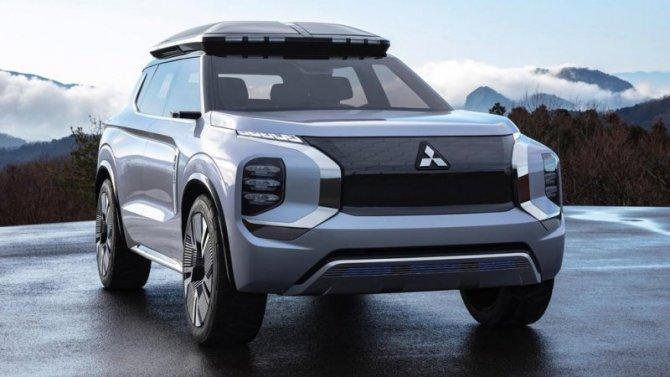 Новый Mitsubishi Outlander будет только гибридным