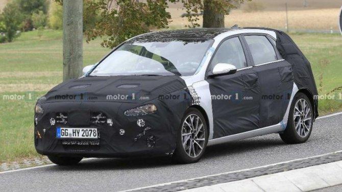 Наиспытания выехал новый Hyundai i30