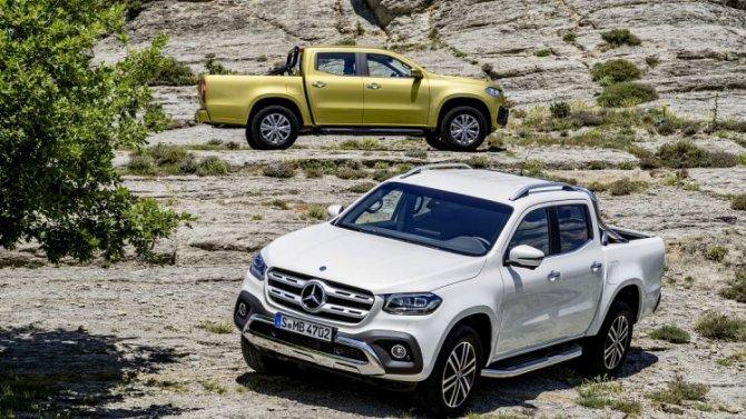 ВРоссии отзывают пикапы Mercedes-Benz