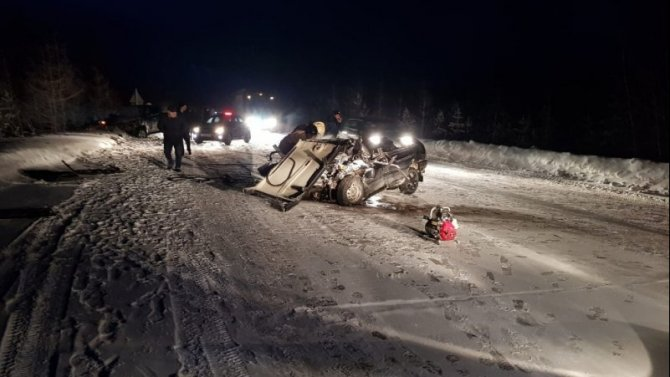 Два человека погибли в ДТП в Пуровском районе