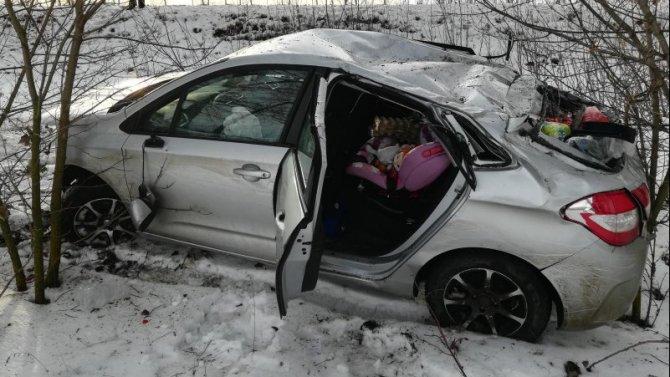 Двое детей пострадали в ДТП в Жердевском районе
