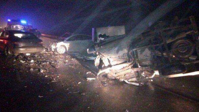 В массовом ДТП в Крыму погиб человек