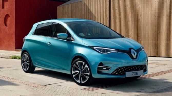 Фирма Renault продала рекордное количество электромобилей