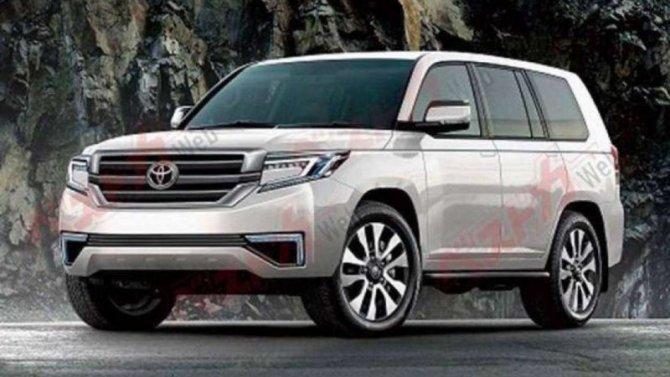 Toyota Land Cruiser 300: появились подробности