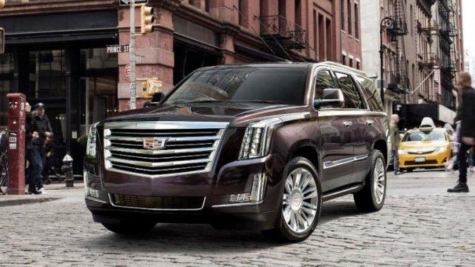 Cadillac Escalade получил прибавку кроссийским ценам