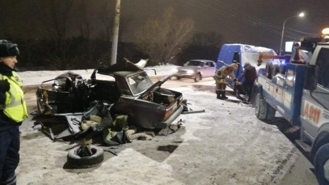 В Омске в ДТП погиб человек