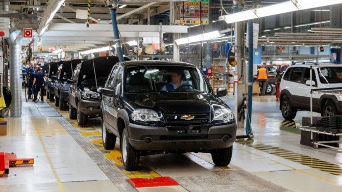 Производством Chevrolet-Niva займётся «АвтоВАЗ»