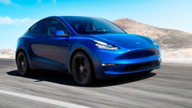 Поставки Tesla Model Yначнутся совсем скоро