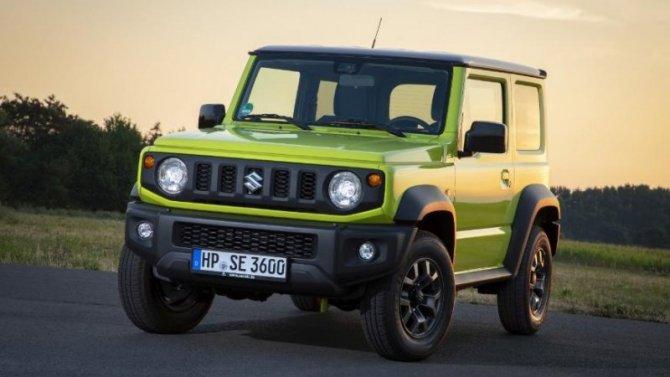 Suzuki Jimny останется вЕвропе