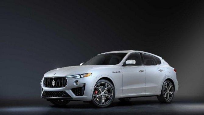 Три модели Maserati получили эксклюзивные версии исполнения
