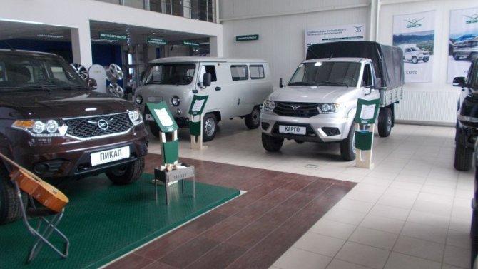 УАЗ почти натреть увеличил экспорт своих машин