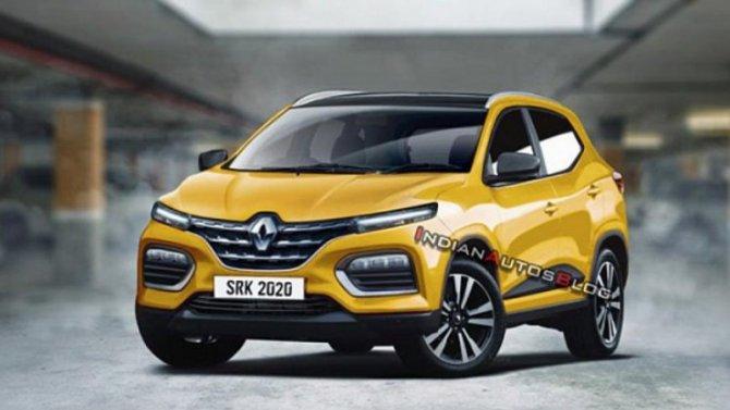 Рассекречен новый бюджетный кроссовер Renault