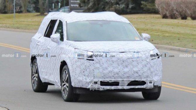 Натесты выехал новый Nissan Pathfinder