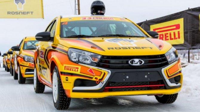 Lada Vesta обзавелась гоночной версией