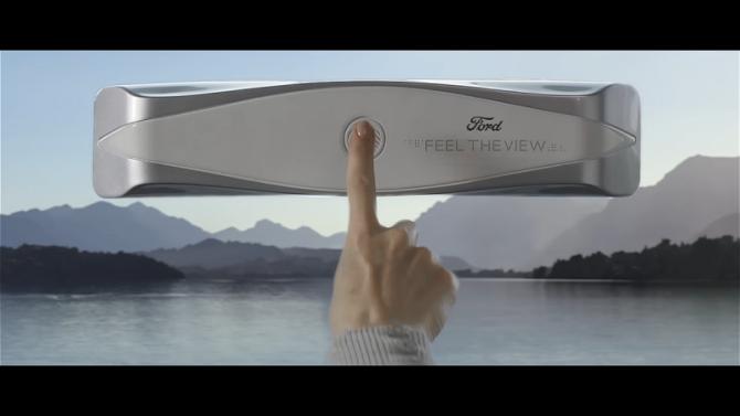 ВСША создано «Окно Брайля» для слепых пассажиров автомобилей