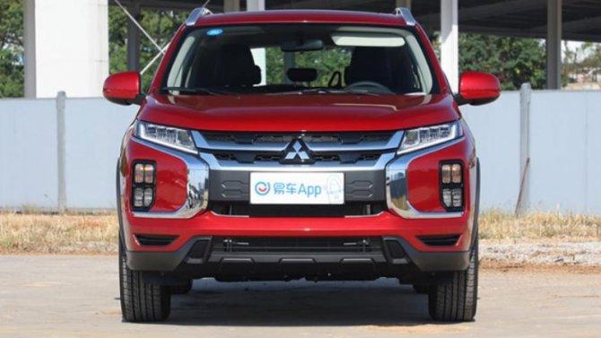 Весной вРоссию приедет обновлённый Mitsubishi ASX