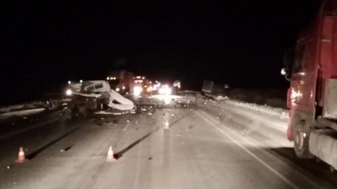В ДТП под Омском погиб водитель