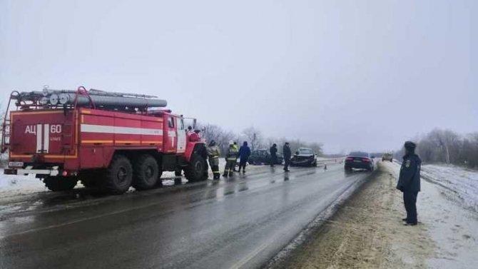 Две женщины погибли в ДТП в Татищевском районе